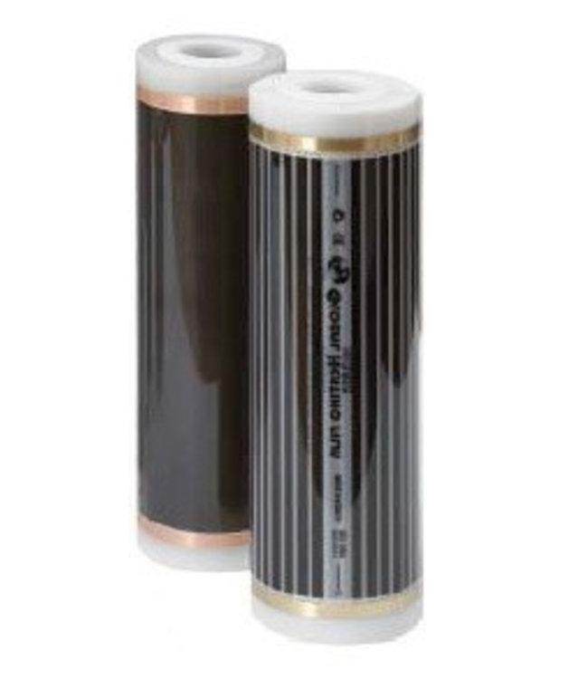 VH Uitbreidingspakket voor Infrarood Vloerverwarming Doe-Het-Zelf pakket  - 100 cm folie