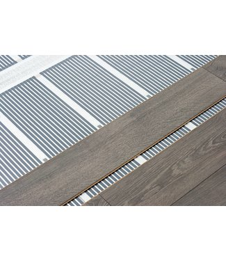VH Infrarood Vloerverwarming - 80 Watt/m2 - 100 cm breed