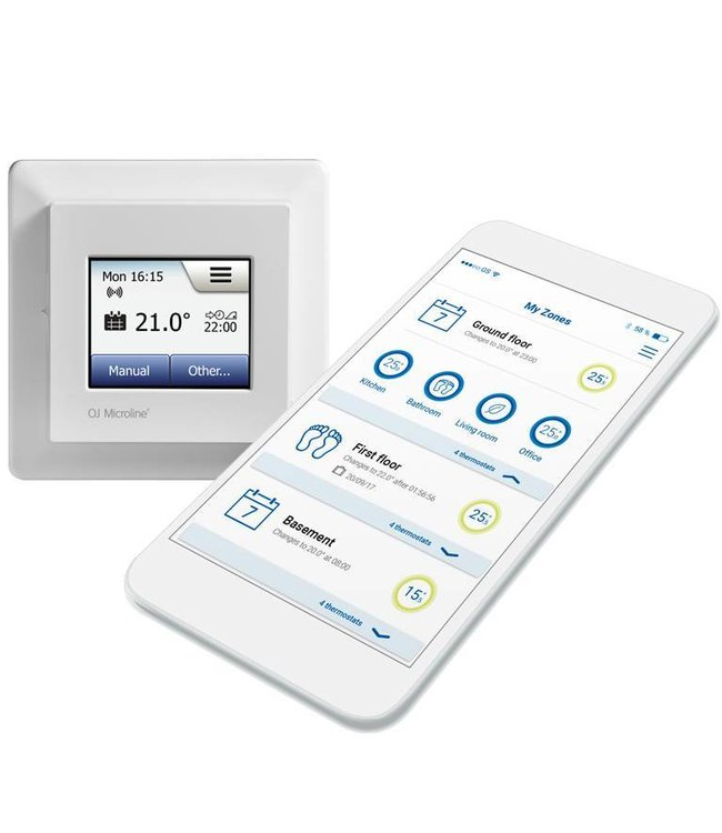 OJ Electronics Microline MWD5  - Digitale WiFi thermostaat