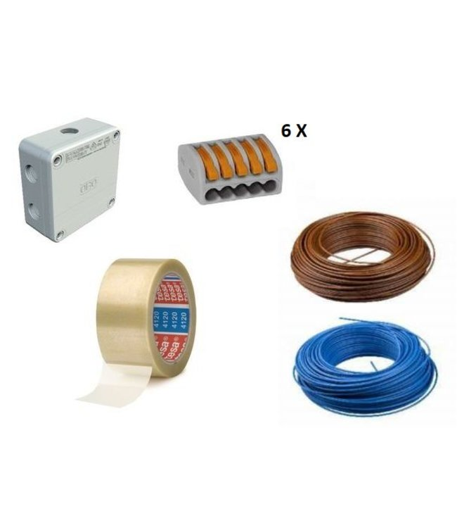 VH Aansluitpakket voor Infrarood vloerverwarming