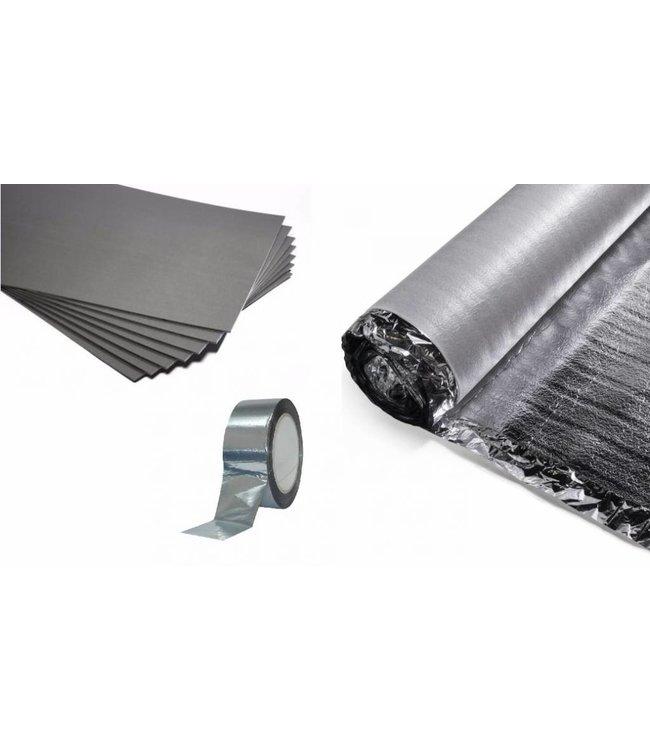 VH Ondervloer Infrarood - 7,5 mm dikte - Geschikt voor infrarood verwarming - 15 m²
