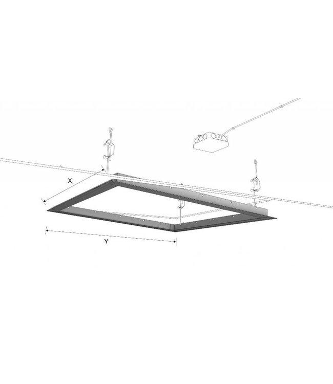 Ecosun Frame voor het inbouwen van  Ecosun infrarood panelen