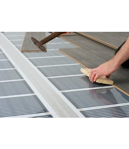 VH Infrarood Vloerverwarming Compleet - 80  Watt/m²  -  100 cm