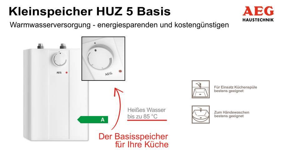 AEG Kleinspeicher - kostengünstig und energiesparend