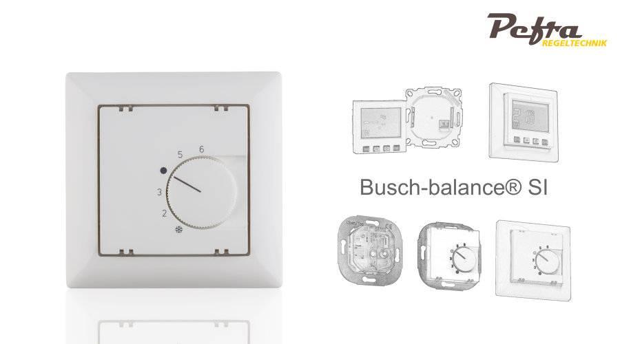 Raumthermostate für Busch Jäger balance SI®