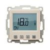 Halmburger Raumthermostat digital mit Uhr für GIRA Standard 55/E2/E22/Event Rahmen