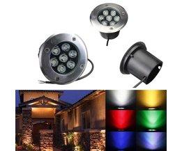 Wateridichte LED grondverlichting voor buiten
