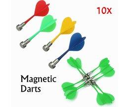 Magnetische Dartpijlen voor Tweezijdig Magnetisch Dartbord 10 Stuks