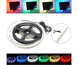 2M USB LED Strip In Meerdere Kleuren