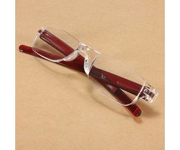 Leesbril in Rood