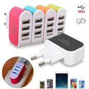 USB Charger Adapter met 3 Poorten