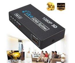 Splitter HDMI met 4 Output Poorten