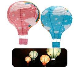 Papieren Lampion Luchtballon 40cm