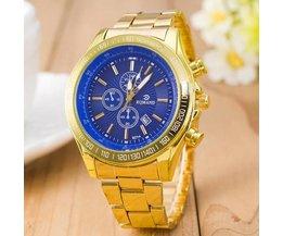 Goudkleurig Horloge