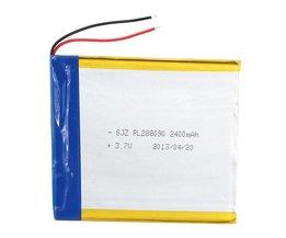 Oplaadbare Lithium Batterij voor Tablets