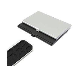 SD Card Storage Box met 9 Houders