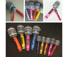 Opblaasbare Microfoon