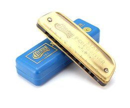 Blues Mondharmonica C Dikker 10Gaten