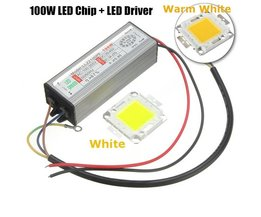 High Power 100W LED Chip Met Driver
