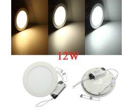 Plafondlamp Rond 12W LED Licht