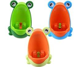 Kinder Toilet met Kikker Design