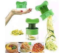 Groente Fruit Spiral Slicer Wortel Komkommer Rasp Spiral Blade Cutter Salade Gereedschap Courgette Pasta Noodle Spaghetti Maker