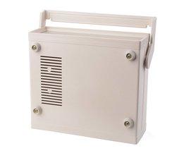 200*175*70mm Waterdichte Plastic Behuizing Project Doos Instrument Bureau Case Shell Met Handvat Voor Elektronica Componenten HT302 MyXL
