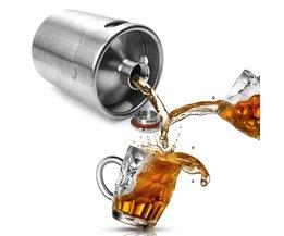2L Homebrew Growler Mini Vaatje Rvs Bier Thuis Brouwen Maken Bar Tool H06 OOTDTY