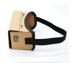 Diy ultra clear google kartonnen vr doos 2.0 virtual reality 3d bril voor iphone smartphone computer gafas xiaomi mi vr headset AINGSLIM