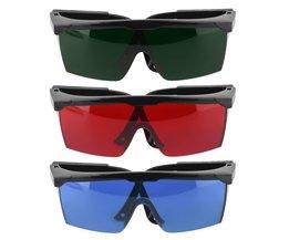 Bescherming Goggles Laser Veiligheidsbril Groen Blauw Rood Eye Bril Beschermende Eyewear Groen ColorHigh Kwaliteit en AOTU