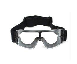 Veiligheidsbril Tactische bril USMC Airsoft X800 Zonnebril Bril Goggles Motor Eyewear Fietsen Paardrijden Oogbescherming CCGK