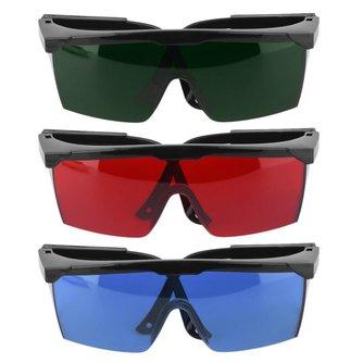 1 Stks Bescherming Goggles Laser Veiligheidsbril Groen Blauw Rood Eye Bril Beschermende Eyewear Groene Kleur Laser Bescherming AOTU