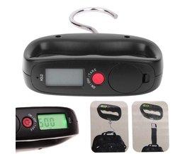 50 kg * 10g Draagbare Elektronische Bagage Schaal Lcd-scherm Reizen Weegschalen Digitale Bagage Weegschalen Opknoping Backlight Balance Wegen VKTECH