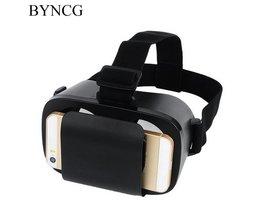 """voor VR DOOS Originele Doos Google Kartonnen Virtual Reality VR Bril 3D Helm Telefoon voor 4.7 """"-6"""" Smart Telefoon BYNCG"""