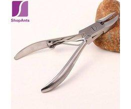 Koop 1 Stuks Voeten Zorg Teen Nagelknipper Trimmer Cutters Professionele Paronychia Tangen Pedicure Podologie Voetverzorging PILATEN