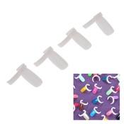 50 stks Professionele Acryl Nail Art Display Tips Set Nagellak UV Gel Kleur Ring Board Praktijk DIY Nail Art Tool abody