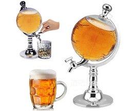 1 ST 1000ccGlobe Vormige Dranken Sterke Dispenser Drink Wijn Bier Pomp Single Bus Pomp JETTING