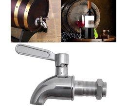 Rvs Drank Dispenser Wijn Vat Spigot/Tap M16 Ronde OOTDTY