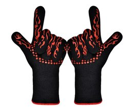 Ovenwant Bakken Glove Extreme Hittebestendige Multi-purpose Grillen Cook Handschoenen Keuken Barbecue Handschoen BBQ Handschoenen TTLIFE