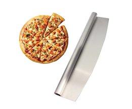 14-inch pizza cutter sharp rocker blade. Zware Roestvrijstalen. beste Manier Om Cut Pizza En Meer. Vaatwasmachinebestendig. Leeseph