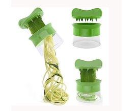 Creatieve Keuken Gadgets Fruit Groente Spiraal Cutter Groente Tool Slicer Shredders Dunschiller Cutter Wortel Rasp Komkommer SWAMPLAND