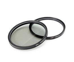 Cameralensfilterset voor Nikon, Canon & Sony