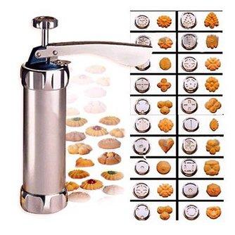20 Bloem Mold Cookies Maker 4 Gemonteerd Bloem Mond Cookie Cutter Cookie Machine Biscuit Maker DIY Keuken Bakken Tools VKTECH