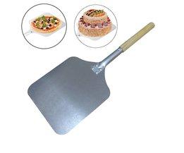 66 cm Aluminium Pizza Peel Schop met Houten Handvat ROSENICE