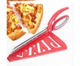 33 CM Keuken Gereedschap Professionele Pizza Schaar broodmes Rvs non-stick Soft Rubber Handvat Pizza BEIGUAN