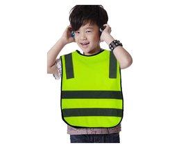 Hoge Zichtbaarheid Leerling Kind Student Kid Reflecterende Verkeer Vest Scooter Fietsen Veiligheid Vest Jacket MayRecords