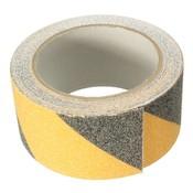Geel + Zwart 5 m x 5 cm Floor Veiligheid Non Slip Tape antislip Veilig Zelfklevende Sticker Hoge Grip Safurance