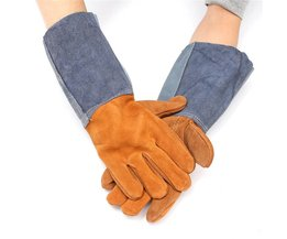 Lassen LASSERS Werk Zachte Koeienhuid Lederen Plus Handschoenen Voor beschermen hand  Safurance