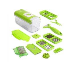12 In 1 Multifunctionele Fruit Groente Gereedschap Slicer Cutter Peeler Dincer Keuken Accessoires Koken Gereedschap Kitstorm