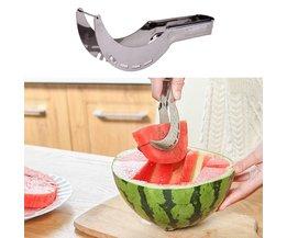 Watermeloen Snijmachine Keuken Gadgets Rvs Fruit Cutter Meloenen Mes Snelle Watermeloen Snijmachine Snijgereedschap VKTECH